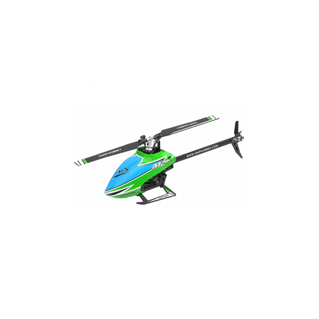 OSHM2-EXP-G OMPHobby M2 RC Helicopter Explore (EXP) Version - Green