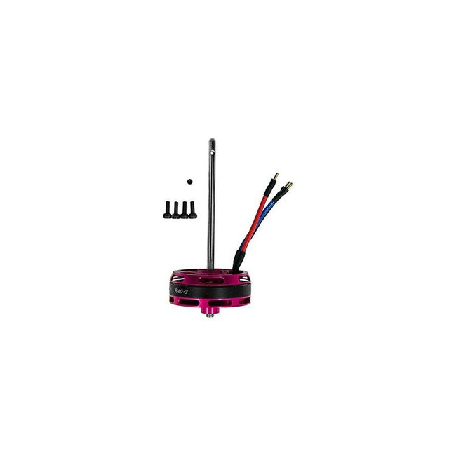 OSHM2120 OMPHOBBY M2 V2 Main Brushless Motor Purple