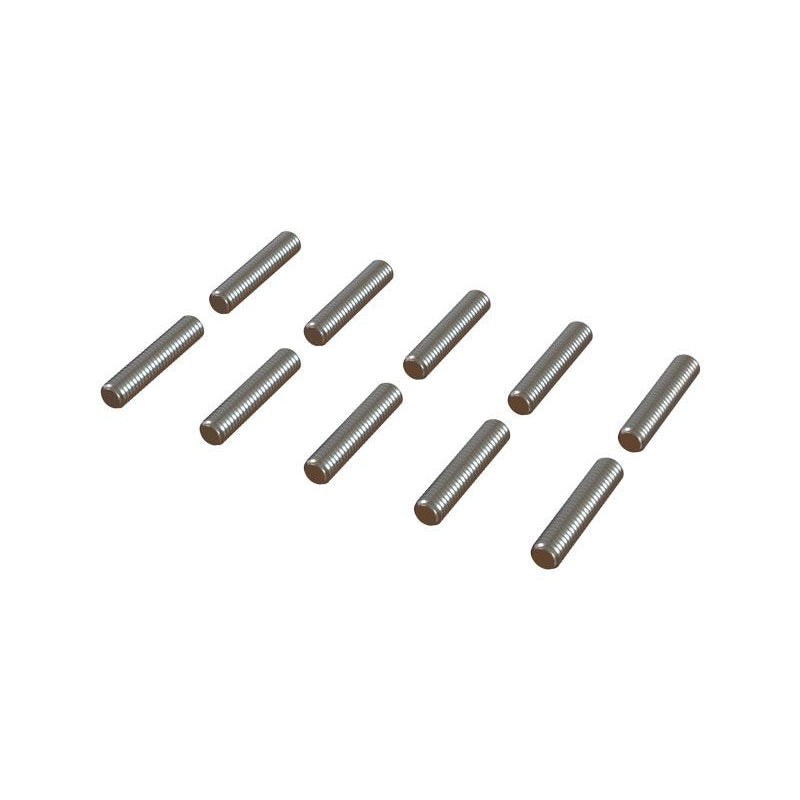 OSP-1012 - Threaded Rod M2x10, 10Pcs-Mad 4 Heli