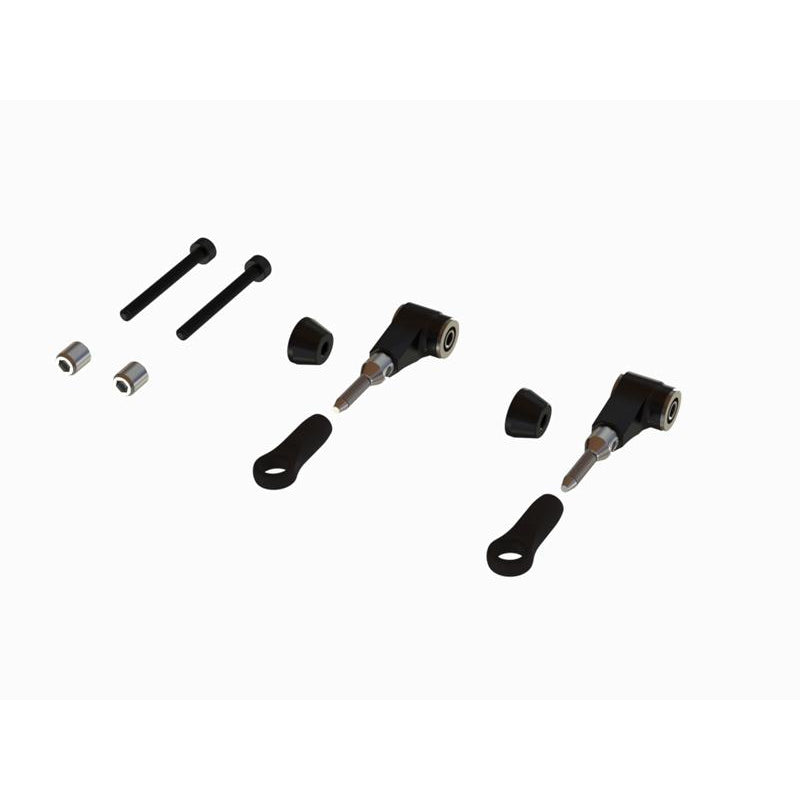 OSP-1127 - OXY3-4 CNC Alu DFC Arm, Set - Black