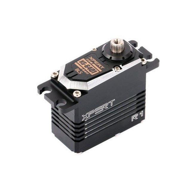 HS-6401-HV Xpert R1 Brushless HV Cyclic Servo-Mad 4 Heli