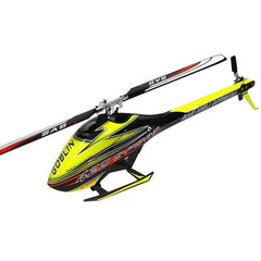 SG420 - SAB GOBLIN 420 YELLOW/BLACK(WITH 420MM THUNDERBOLT MAIN BLADES) IN STOCK NOW