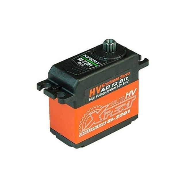 Xpert SI Brushless HV Cyclic Servo (SI-2201-HV)-Mad 4 Heli