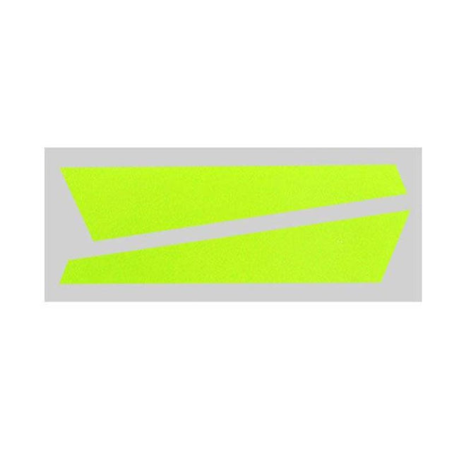 SP-OXY2-059 - OXY2 - Vertical Fin Sticker Yellow (D)-Mad 4 Heli