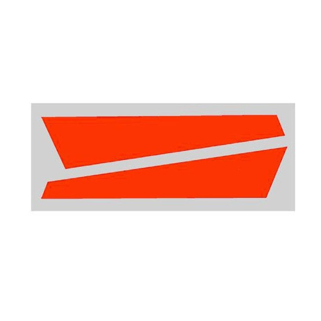 SP-OXY2-060 - OXY2 - Vertical Fin Sticker Orange (D)-Mad 4 Heli