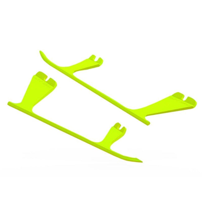 SP-OXY2-104 - OXY2 - Plastic Landing Gear Skid, Left / Right - Yellow-Mad 4 Heli