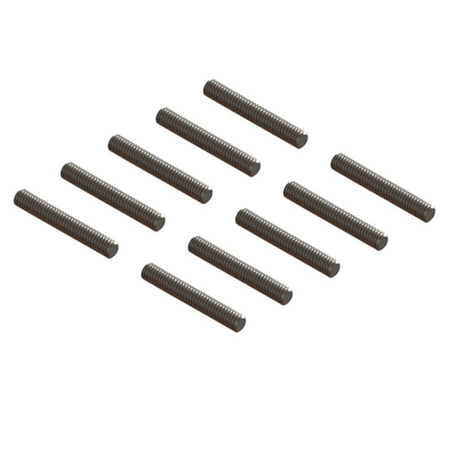SP-OXY2-130 - Threaded Rod M1.4x7 , 10Pcs-Mad 4 Heli
