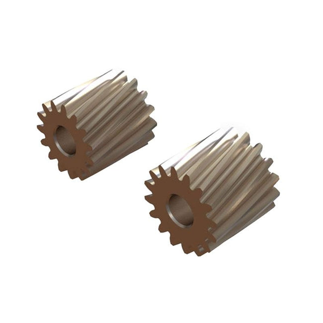 SP-OXY2-137 - OXY2 - Helicoidal Pinion 15T, 16T - 2.5mm Motor Shaft-Mad 4 Heli
