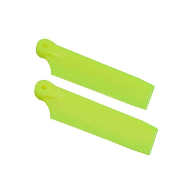 SP-OXY3-058-4 - OXY3 - Tail Blade 47mm - Yellow-Mad 4 Heli