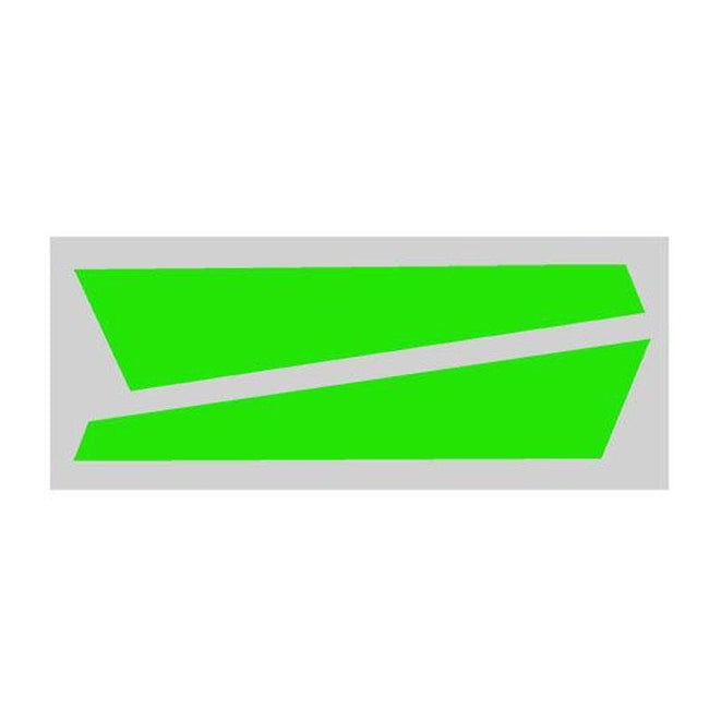SP-OXY3-084 - OXY3 - Vertical Fin Sticker Green (D)
