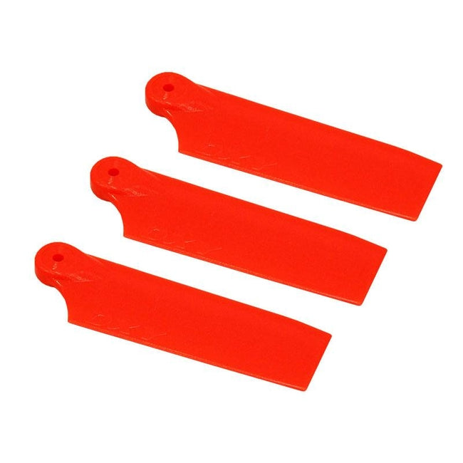 SP-OXY3-102-1 - OXY3 - 3X Tail Blade 47mm - Orange-Mad 4 Heli