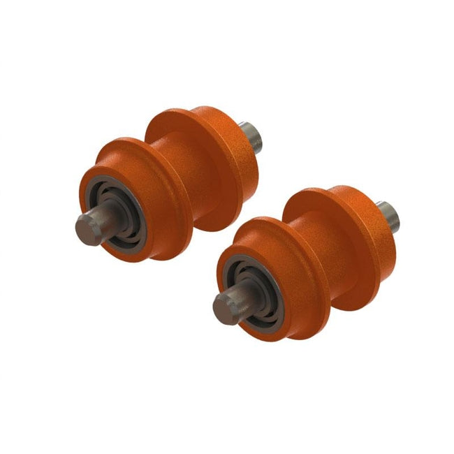 SP-OXY3-122 - OXY3 TE - Aluminum Pulley Guide Belt, Orange-Mad 4 Heli