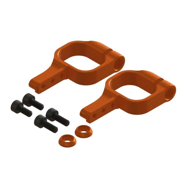 SP-OXY3-130 - OXY3 TE - Tail Servo Mount, Orange-Mad 4 Heli