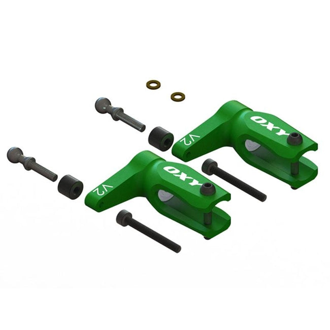 SP-OXY3-206 OXY3 GL-V2 Main Grip, Green 2Pcs