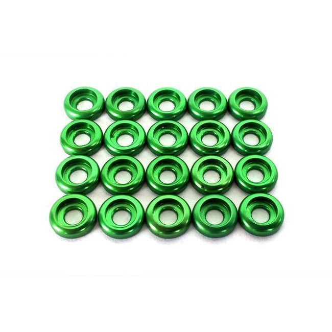 SP-OXY3-216 C Washer M2,Green 20pcs-Mad 4 Heli
