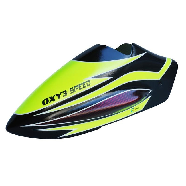 SP-OXY3-217 OXY3 Speed Canopy Yellow, Spare-Mad 4 Heli