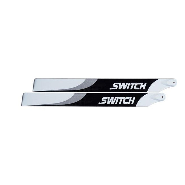 Switch 473mm Premium Carbon Fiber Blades. SW-473-Mad 4 Heli