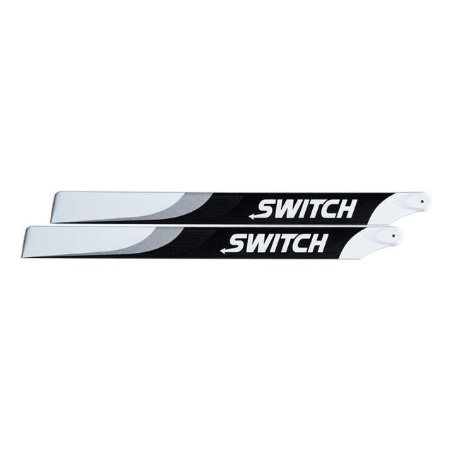 Switch 503mm Premium Carbon Fiber Blades. SW-503-Mad 4 Heli