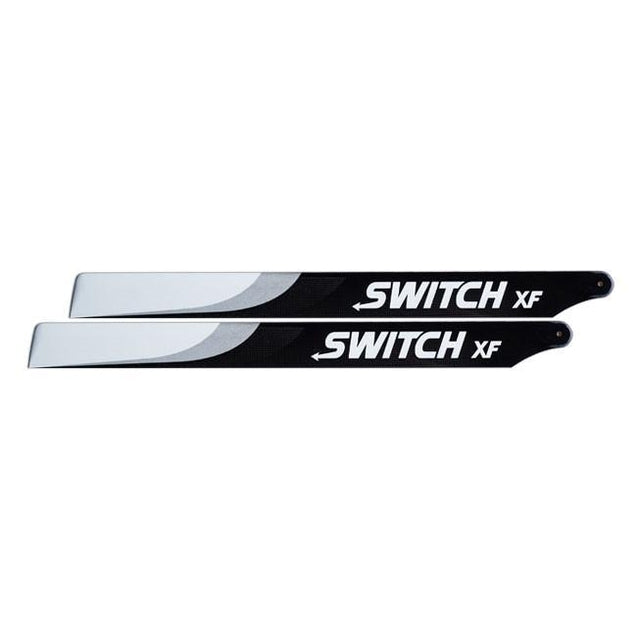 Switch 603mm XF (Extreme Flight) Premium Carbon Fiber Blades.-Mad 4 Heli