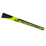 H0278-S Goblin 500 Carbon Fiber Tail Boom Yellow/Black-Mad 4 Heli