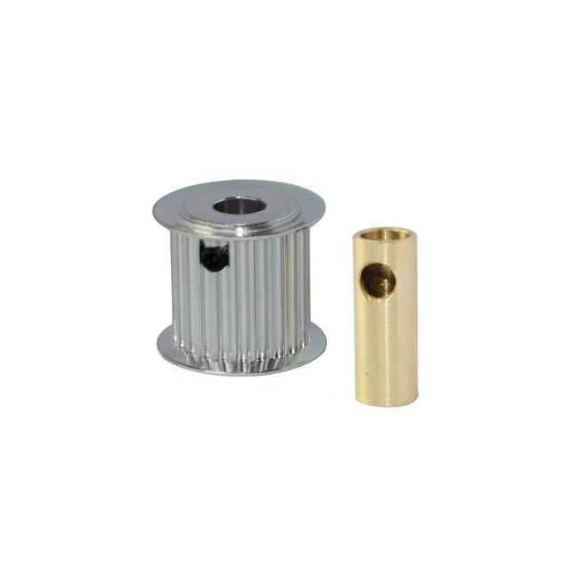 H0175-25-S - ALUMINUM MOTOR PULLEY 25T (FOR 6/8MM MOTOR SHAFT) - GOBLIN 770/GOBLIN 700 COMPETITION-Mad 4 Heli