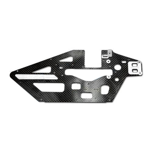 450L Carbon Fiber Main Frame(L)-1.2mm -H45B001XX-Mad 4 Heli