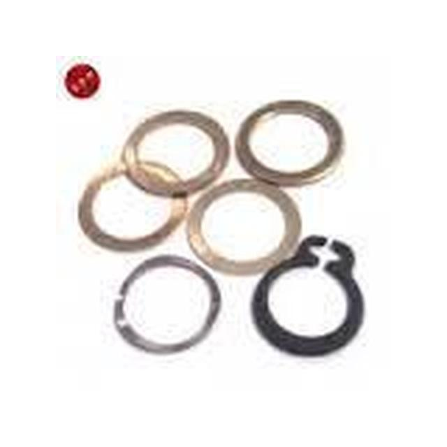 C-Clip and washer set for 4020 and above size motors 1407005-37-Mad 4 Heli