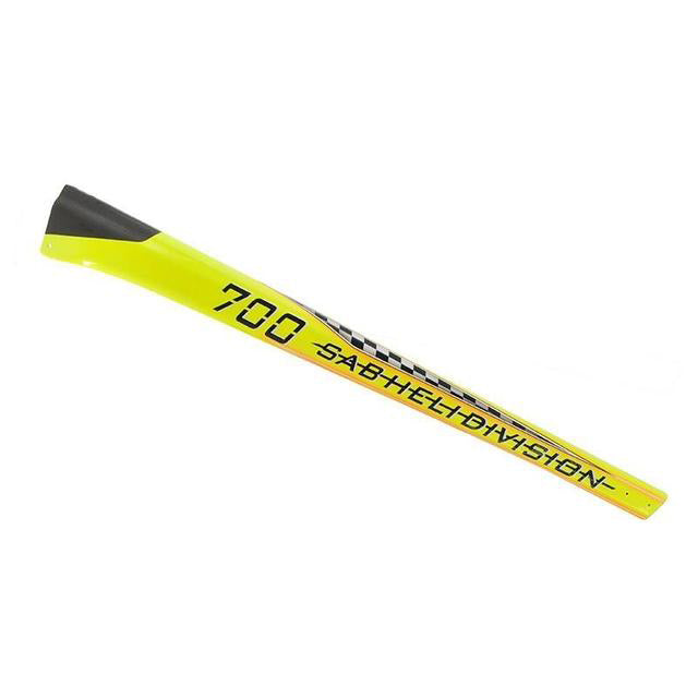 Carbon Fiber Tail Boom Yellow - Goblin Speed H0366-S