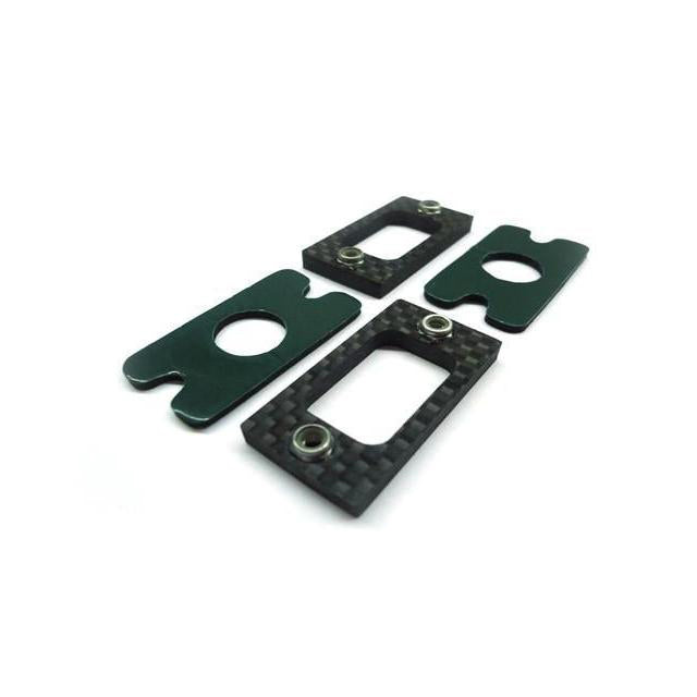 H0041-S Goblin 630/700/770 Carbon Fiber Tail Locking Reinforcement (2pcs)