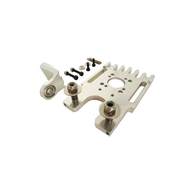 H0142-S Goblin 630/700/770 Aluminum Motor Mount With Third Bearing Support-Mad 4 Heli