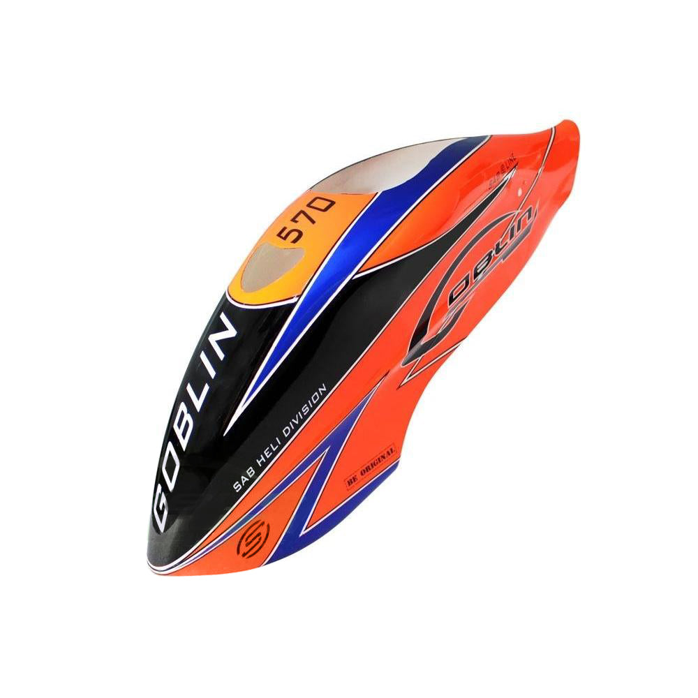 H0965-S - Orange Canopy - Goblin 570 Sport