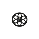 131T M0.8 Autorotation Tail Drive Gear-Black H60198QA-Mad 4 Heli