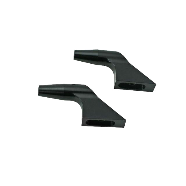 H0183BL-S - ALUMINUM MAIN BLADE GRIP ARM (NEW DESIGN) BLACK EDITION - GOBLIN 700/770