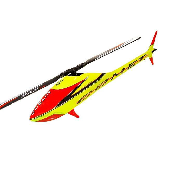 SG724 - GOBLIN COMET YELLOW – RED-Mad 4 Heli