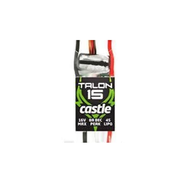 Castle Creation Talon 15, 15AMP ESC, HEAVY DUTY BEC 010-0129-00-Mad 4 Heli