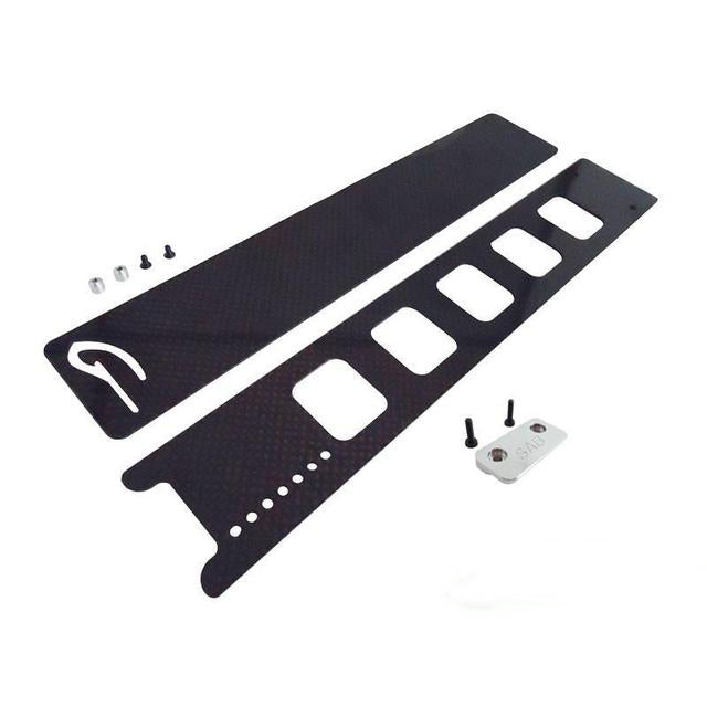 H0169-S Quick release battery tray set - Goblin 630/700/770 Quick release battery tray set - Goblin 630/700/770-Mad 4 Heli