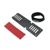 H0536-S - CARBON FIBER BATTERY TRAY - GOBLIN 380-Mad 4 Heli