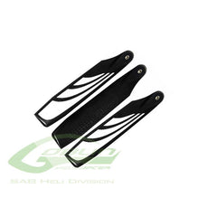 115TBS SAB TAIL BLADES-Mad 4 Heli