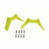 H0485-S - PLASTIC YELLOW LANDING GEAR SUPPORT - GOBLIN 630/700/770CO/URUKAY-Mad 4 Heli