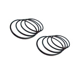 HA012-S Goblin 630/700 Battery Rings (8pcs)-Mad 4 Heli
