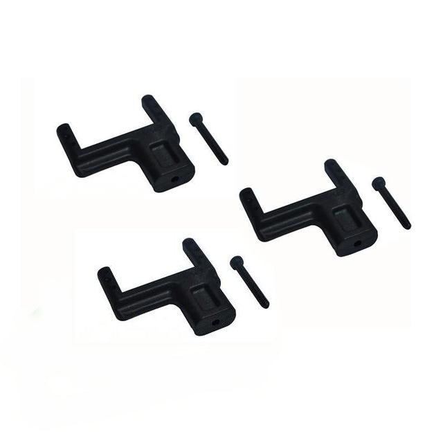 H0548-S - PLASTIC SERVO SUPPORT - GOBLIN 380-Mad 4 Heli