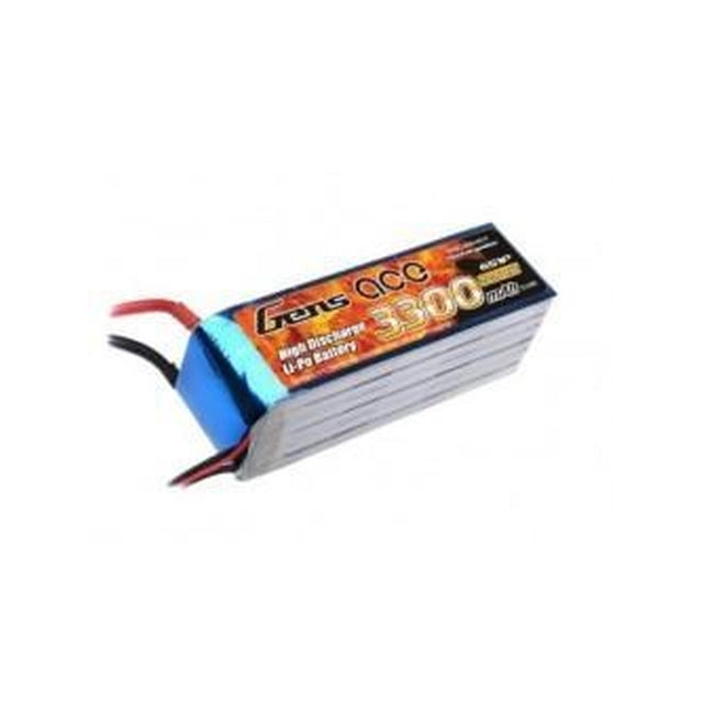 GENS ACE 3300MAH 22.2V 45C 6S1P LIPO BATTERY PACK