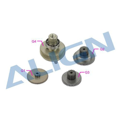 HSP82501 DS825 Servo Gear Set
