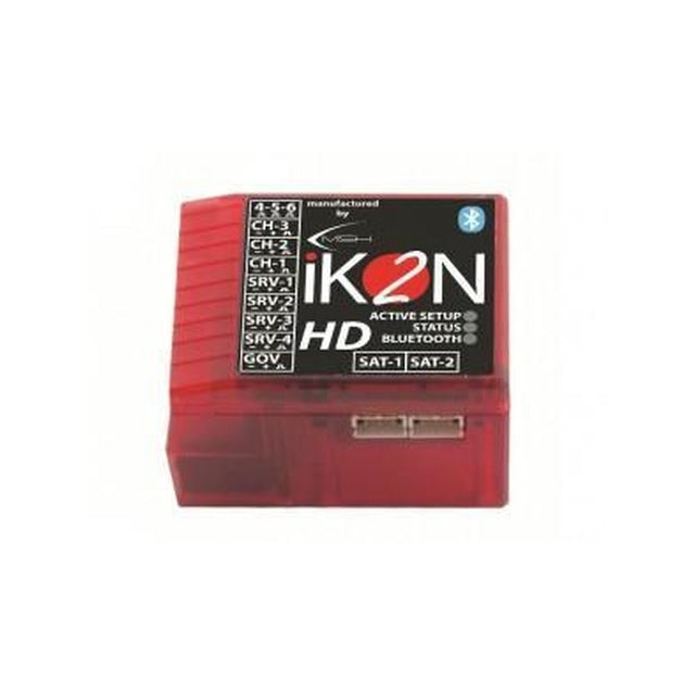IKON2004 iKON2 HD Flybarless System with Integrated Bluetooth Module-Mad 4 Heli