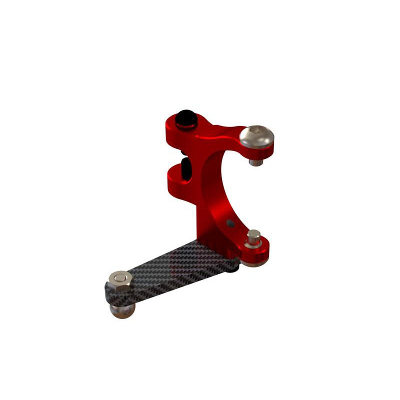 OSP-1080 - OXY4 Ultra Tail Bell Crank - Red