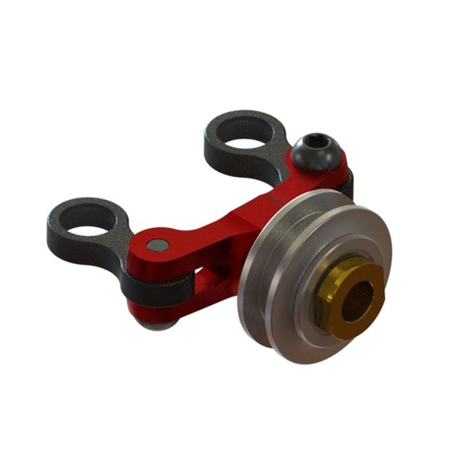 SP-OXY3-262 OXY3 - Ultra Tail Pitch Slider - Red (D)-Mad 4 Heli