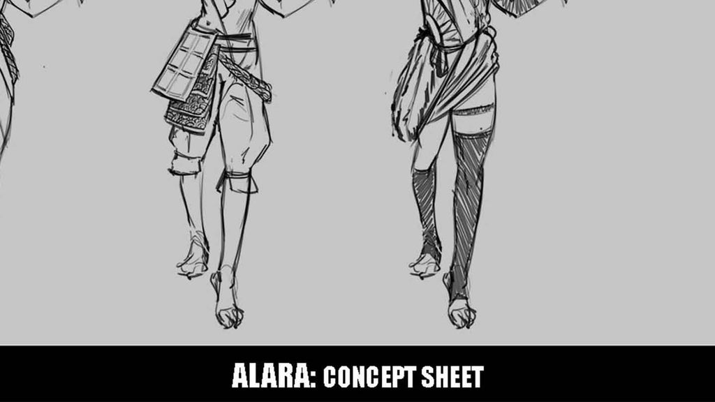Patreon Exclusive - Alara Concept Sheet