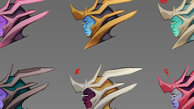 Ishvana Final Face: Color Options