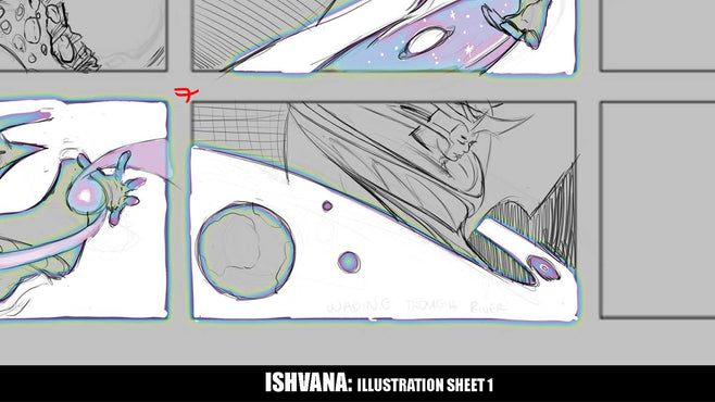 Ishvana: Illustration Sheet 1