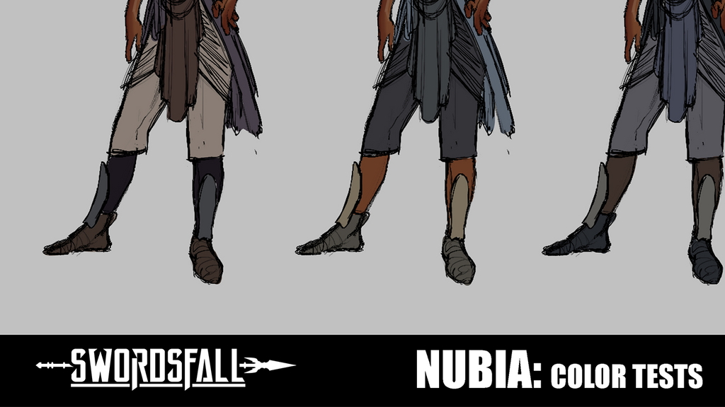 Patreon Exclusive - Nubia Design Color Tests